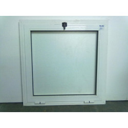 WHITE ALUMINUM TILTING WINDOW