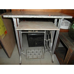 Old metal table (with...